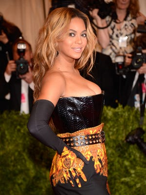 Beyonce at the Met gala on May 6.