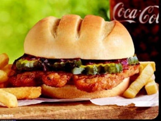 burger king rib sandwich