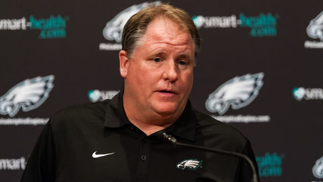 The Eagles hired Chip Kelly on Jan. 16.
