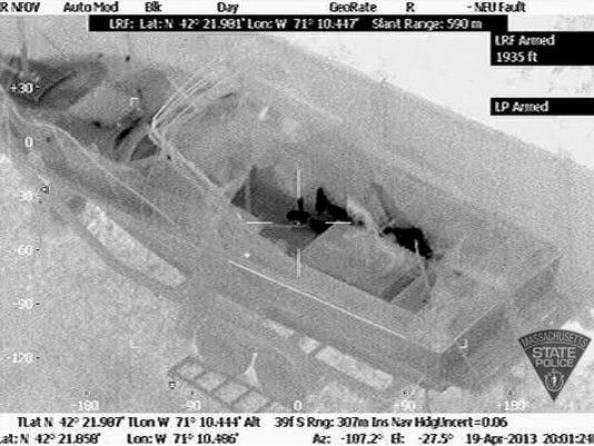 Dzhokhar Tsarnaev boat