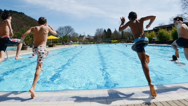 More than half of pools in a new U.S. study showed signs of fecal contamination.