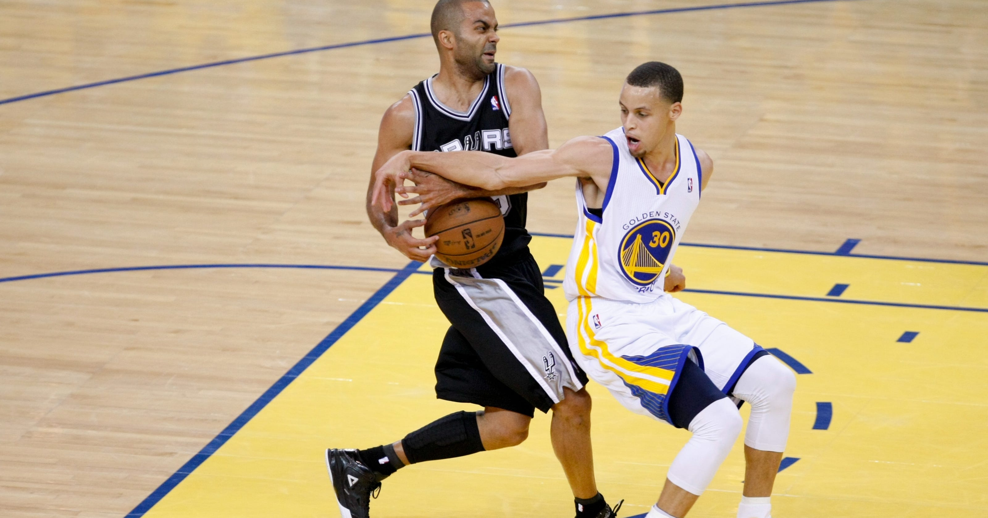 Spurs beat Warriors to advance to Western Conference Finals