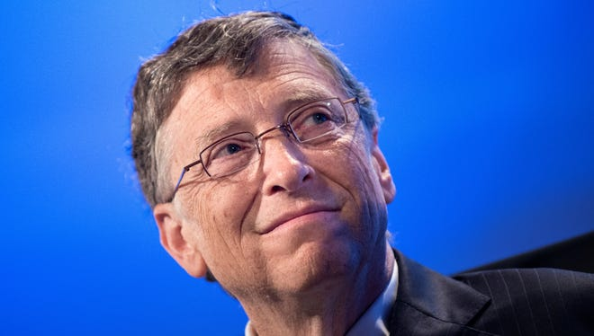 Bill Gates, chairman of Microsoft and co-chair of the Bill , Melinda Gates Foundation, listens during the 2013 Fiscal Summit at Mellon Auditorium on May 7 in Washington.