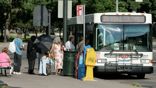 Public transportation employees have been listed as the most obese workforce in America (AP Photo/Ed Andrieski)