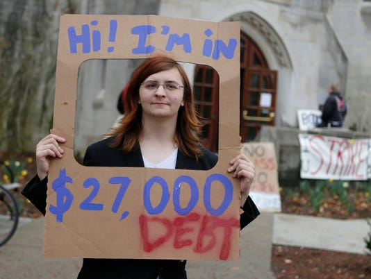 Student loan loads block home, car purchases