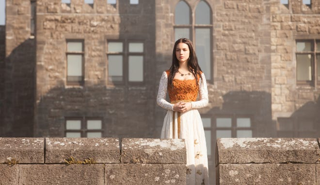Adelaide Kane plays the ill-fated Mary, Queen of Scots as a teenager in CW's 'Reign.'