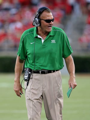 North Texas coach Dan McCarney is 9-15 over two seasons with the Mean Green.