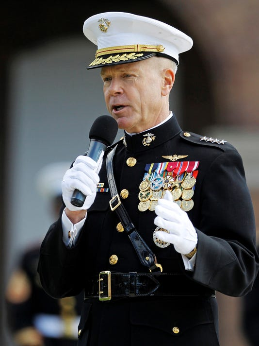 marine general influence