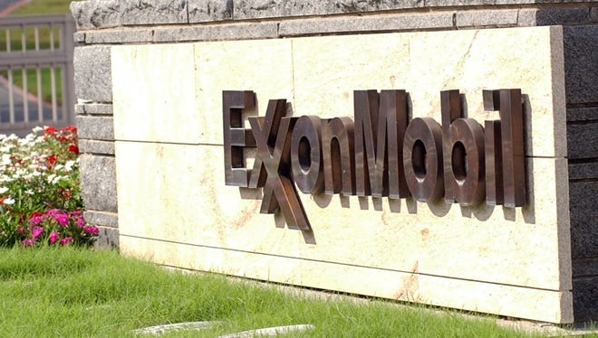 Exxon Mobil cooperate headquarters in Irving, Texas.