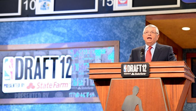 NBA commissioner David Stern will conduct his final draft on June 27.