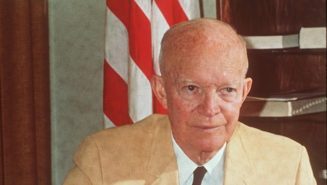 "President Dwight Eisenhower's Executive Order 10450 banned anyone engaged in ""sexual perversion"" from federal employment. It's told in a new documentary, ""The Lavender Scare.""'"