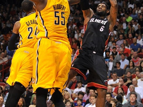 LeBron James can't be guarded by any one player, even Paul George.
