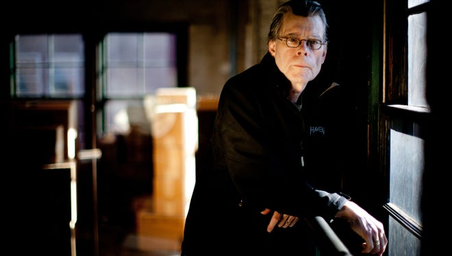 Author Stephen King, pictured at the Sixth Floor Museum in Dallas in 2011, will see his college poem published.