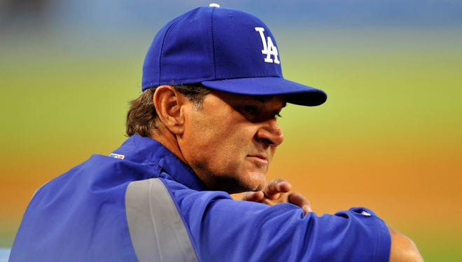 Don Mattingly's Dodgers were 5-17 this month entering Tuesday. At 18-25 overall, they're in last place in the National League West.