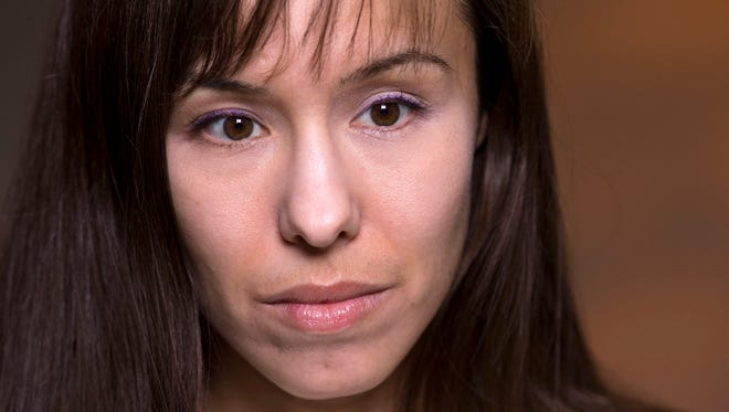 """""""Whatever they come back with, I will have to deal with it,"""" Jodi Arias said Tuesday while awaiting jurors' decision."""