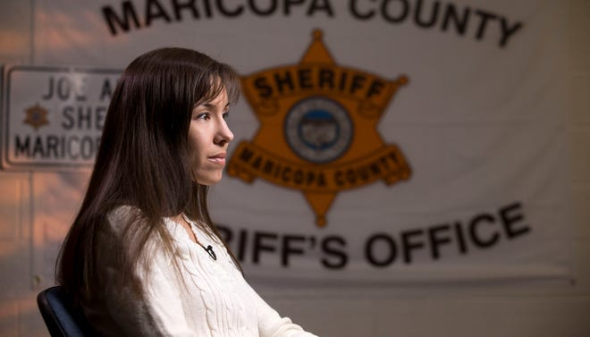 Jodi Arias gives her first interview since pleading with jurors for her life  May 21 at the Maricopa County Estrella Jail in Phoenix, Ariz.