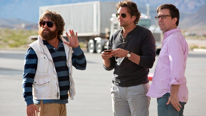 Zach Galifianakis, Bradley Cooper and Ed Helms return for 'Hangover: Part III.'