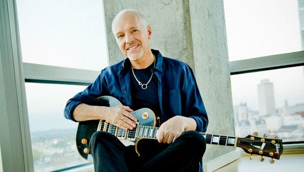 Peter Frampton will be joined by Robert Cray, B. B. King and others on his Frampton's Guitar Circus tour, which begins May 28 in Nashville, Tenn.