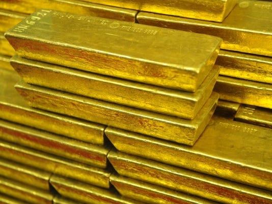gold bars 2011