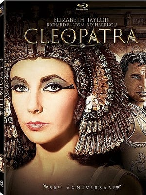 50th anniversary DVD release of Cleopatra, starring Elizabeth Taylor and Richard Burton
