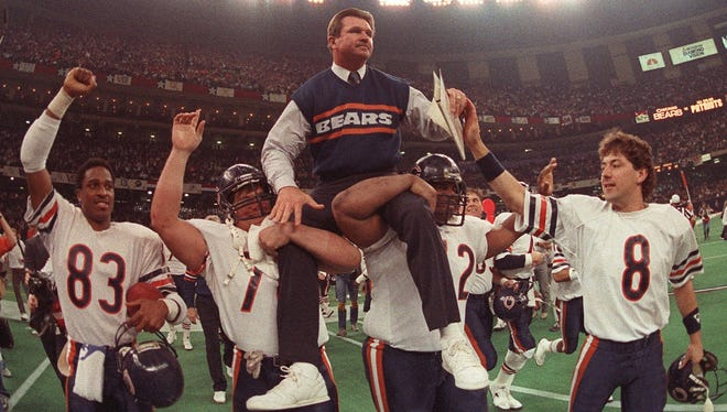 Mike Ditka revolutionized the tight end position with his pass-catching ability and later coached the 1985 team to the Super Bowl championship.