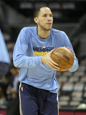 Grizzlies forward Tayshaun Prince has not played well in the Western Conference finals through two games.
