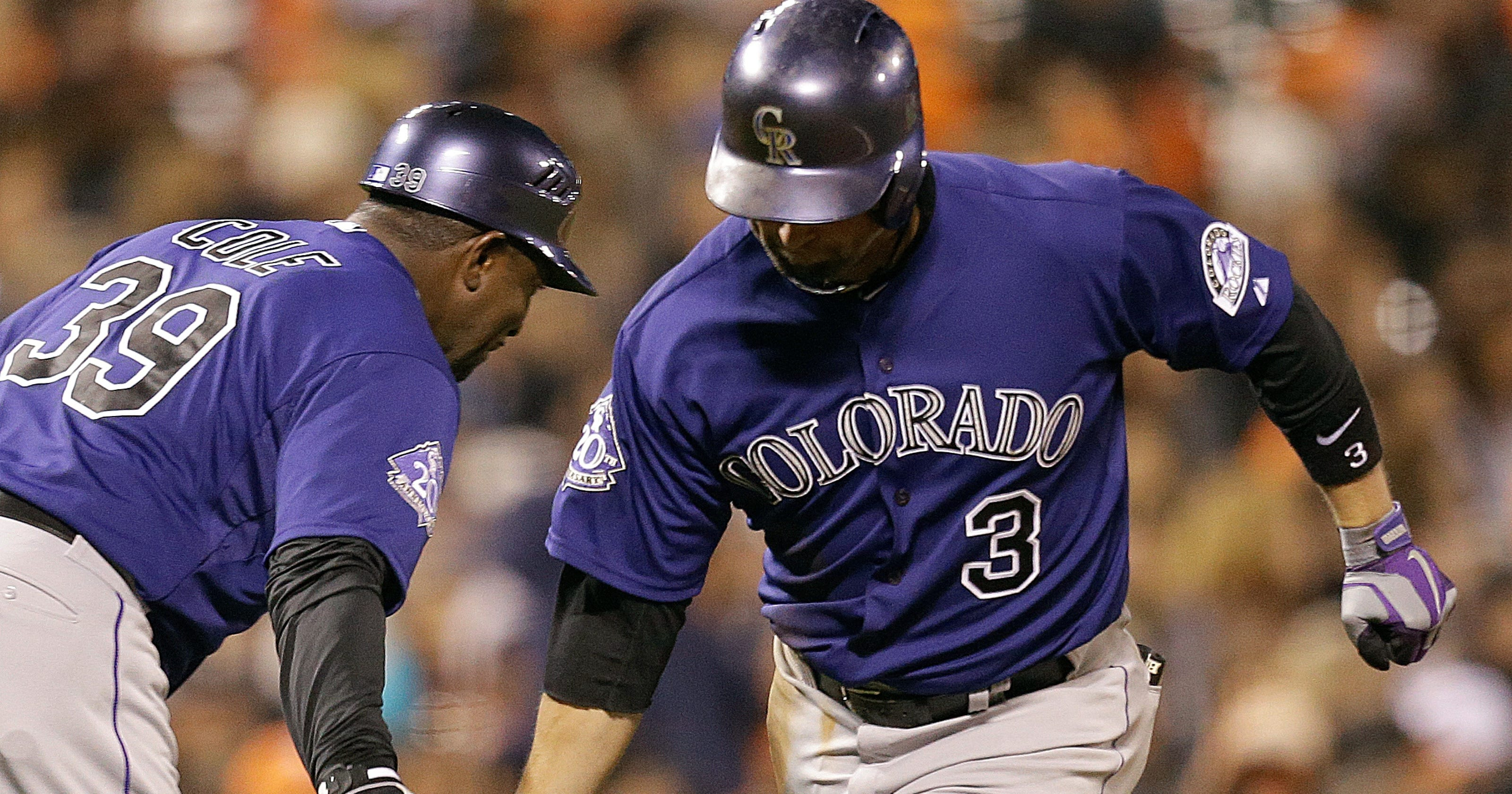42bb4f39fed Michael Cuddyer returns from DL to lead Rockies by Giants