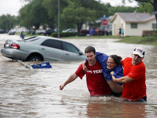 Searchers find body of teen missing in Texas flood