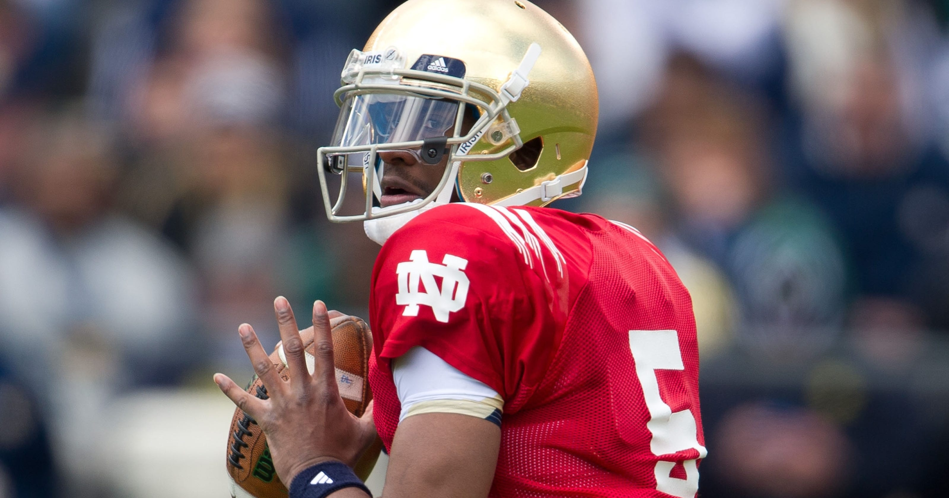 1e8d9f26026 Notre Dame QB Everett Golson no longer in school