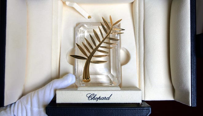 The Palme d'Or is the top prize at the Cannes Film Festival.