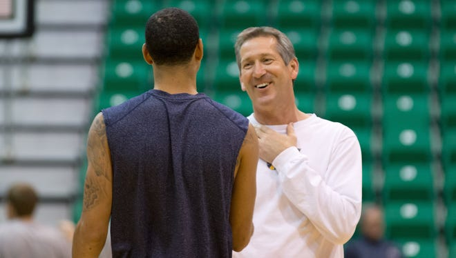 Jeff Hornacek was a Jazz assistant before being hired as Suns head coach.