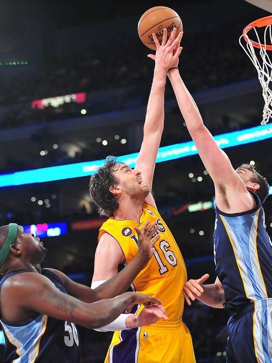 82cbec81e Pau Gasol happy for Marc even as Lakers mess awaits