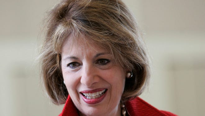 Rep, Jackie Speier, D-Calif., shown here in 2008, has pressed the Marine Corps on what the services plans to do about sexist online posts denigrating female Marines.