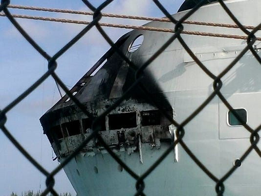 Fire forces alarming wake-up call for cruise passengers
