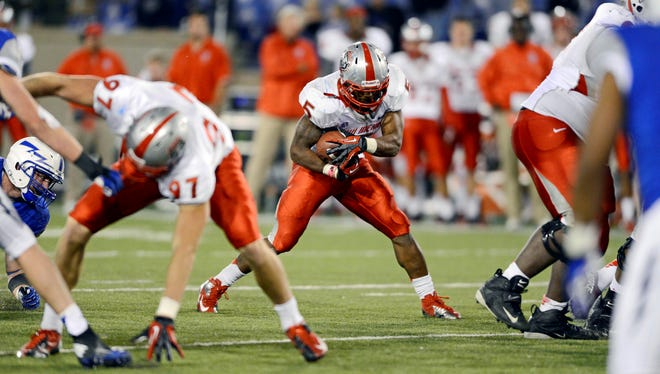 A powerful running game helped New Mexico win four games in 2012, the program's first season under former Notre Dame coach Bob Daive.