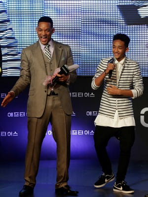 Will Smith and son Jaden star in the upcoming sci-fi film 'After Earth.'