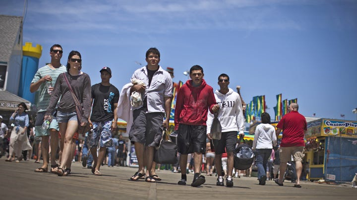 Jersey Shore towns rebound from Sandy