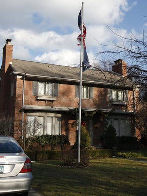 The Grosse Pointe Park, Mich., home where Jane Bashara died. Her husband, Bob, has been charged in her death.