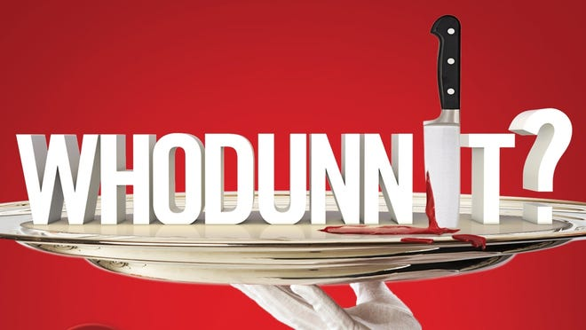 The cover of 'CSI' creator Anthony Zuiker's new book 'Whodunnit?: Murder in Mystery Manor.'