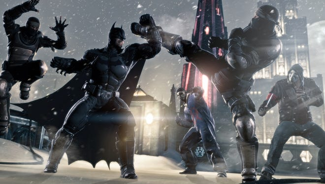 The Caped Crusader returns in 'Batman: Arkham Origins,' which follows a younger superhero in search of his Dark Knight persona. Villains expected to appear include Deathstroke and, no surprise, The Joker.