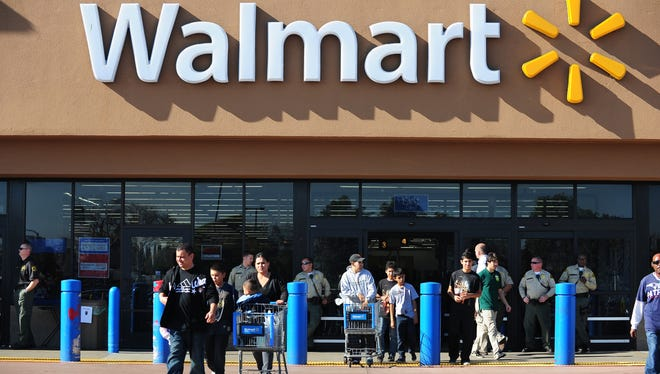 Wal-Mart has admitted negligently dumping pollutants from Walmart stores into sanitation drains across California, a company spokeswoman says.
