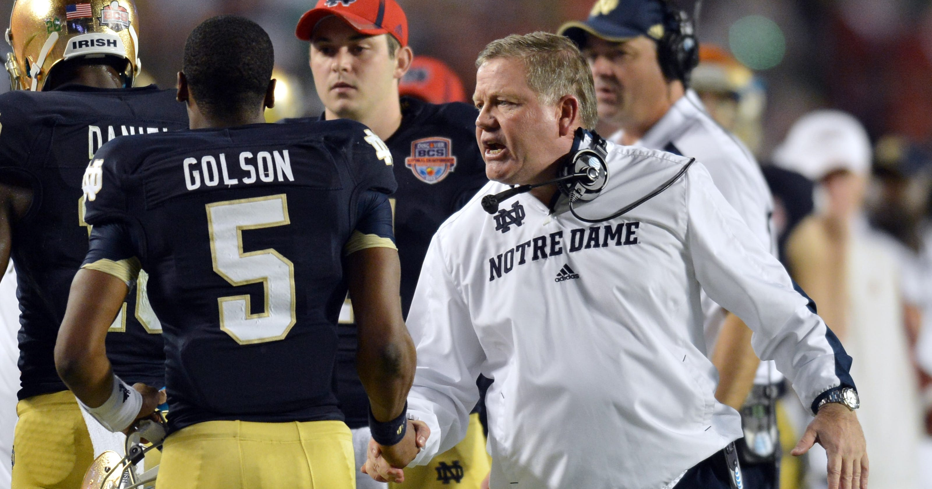 1803162018a Notre Dame's Brian Kelly on Everett Golson's future