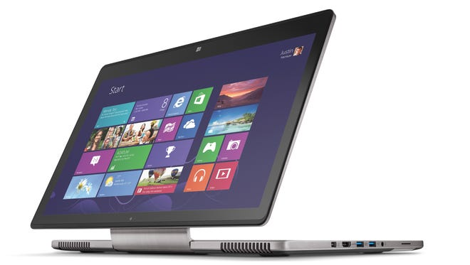 The Acer Aspire R7.