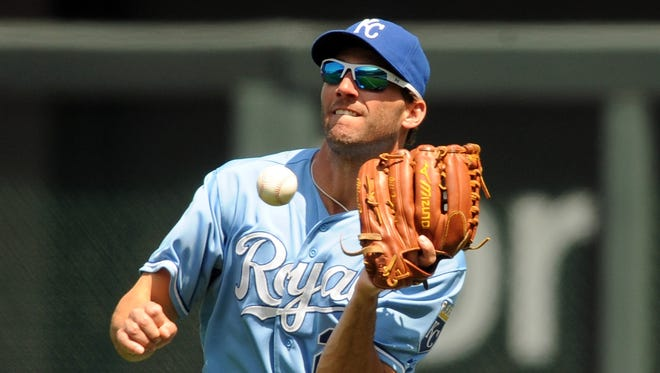 Jeff Francoeur and the Royals rank 14th defensively in the AL.