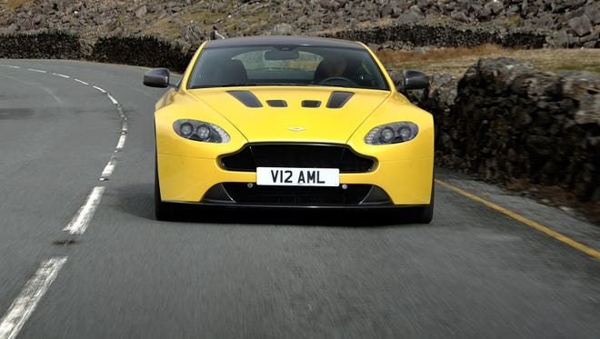 Aston was designed to hug the ground to help its aerodynamics