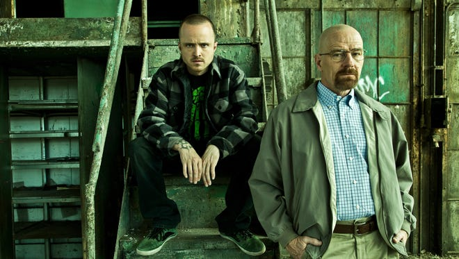 Jesse Pinkman (Aaron Paul) and Walter White (Bryan Cranston) will face more danger in 'Breaking Bad,' back on AMC in August.
