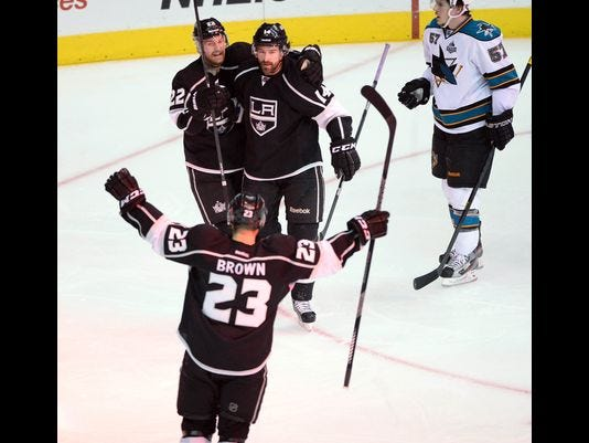 Kings Top Sharks In Game 7