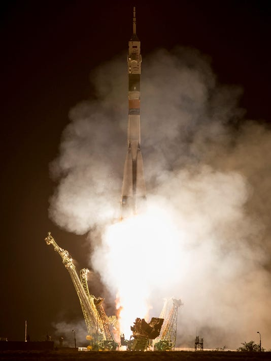 Soyuz launches, arrives at space station in a day