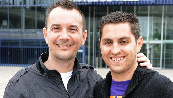 The first same-sex marriage in France will be the wedding uniting Vincent Autin and his partner Bruno Boileau.