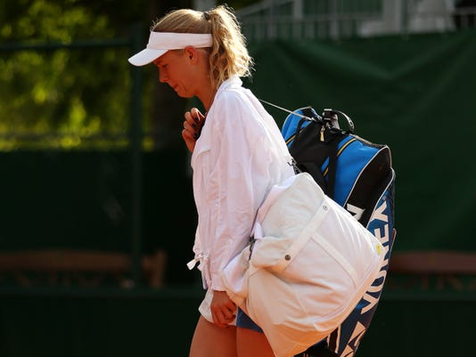 Caroline Wozniacki loses